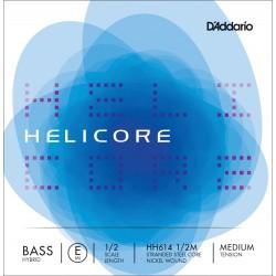 DADDARIO HH614 HELICORE HYBRID M CUERDA SUELTA CONTRABAJO 1/2 M