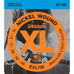 DADDARIO EXL110 - XL REGULAR LIGHT [10-46] JUEGO ELECTRICA