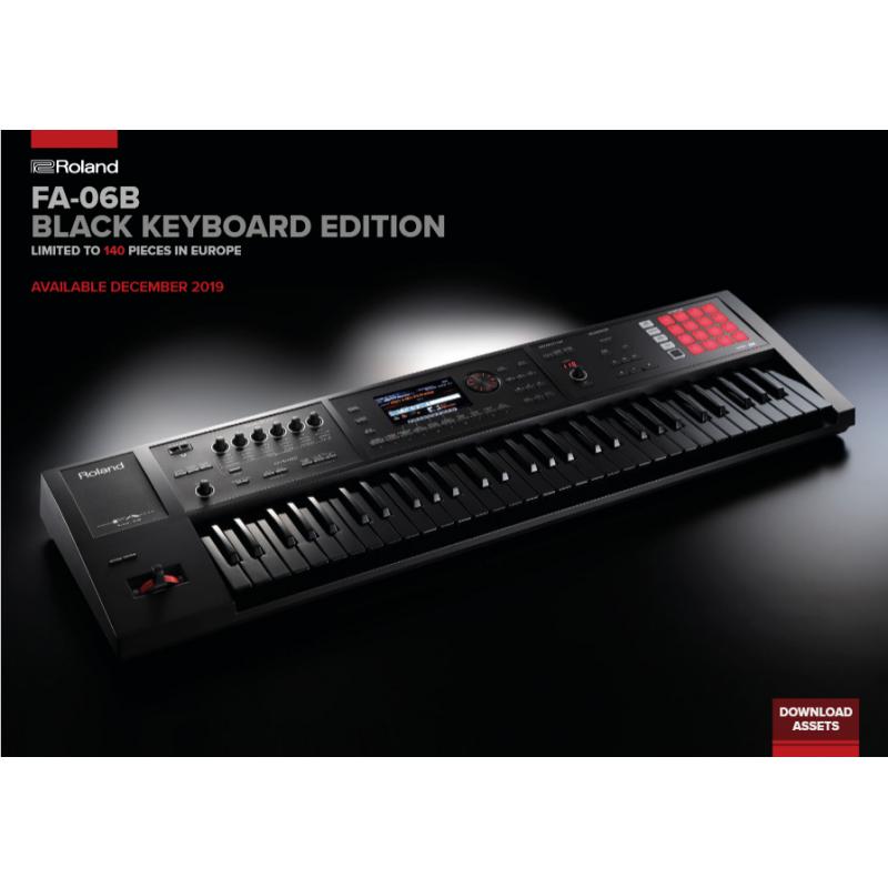 Roland FA-06 Black Edición Limitada