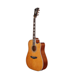 D'Angelico Premier Bowery Vintage Natural