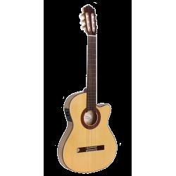 Guitarra Flamenca Paco Castillo 233 FTE Estrecha Electrificada