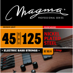 Magma BE165N Juego de 5 Cuerdas Bajo 045-15
