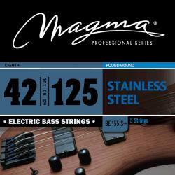 Magma BE155N+ Juego de 5 Cuerdas Bajo 042-125