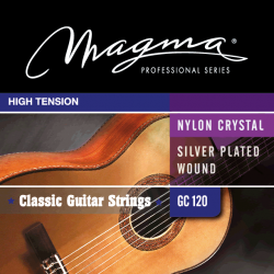 Cuerdas clásica Magma Carbon GC120D High Tension