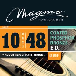 Magma GA120P Juego Acústica Coated 010 - 048