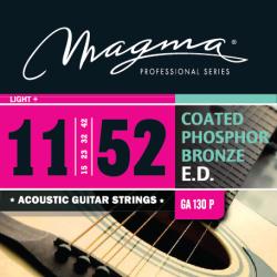 Magma GA130P Juego Acústica Coated 011 - 052