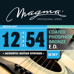 Magma GA140P Juego Acústica Coated 012 - 054