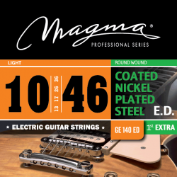 Magma GA140ED Juego Electrica Coated 010 - 046