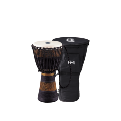 MEINL DJEMBE ADJ3-M+BAG 10 BROWN/BLACK, INC
