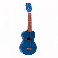 Mahalo Mk1TBR Ukelele Soprano Azul con Funda