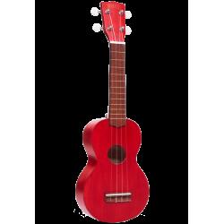 Mahalo Mk1TBR Ukelele Soprano Rojo con Funda
