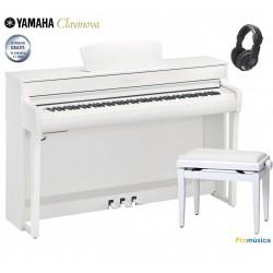 Pack Yamaha Clavinova CLP-735 wh Blanco