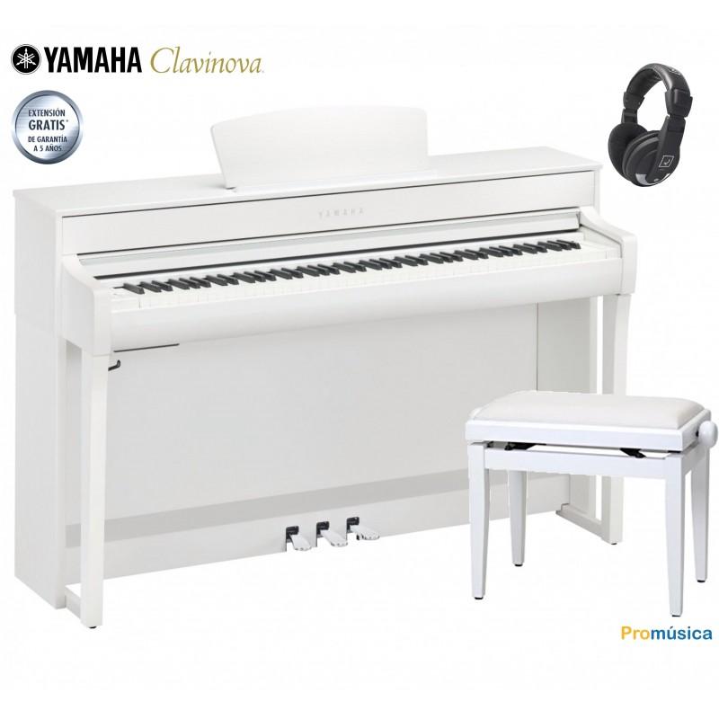Pack Yamaha Clavinova CLP-635 B Negro
