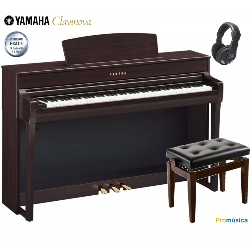 Yamaha Clavinova CLP-745 R Palisandro