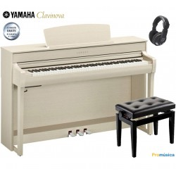Yamaha Clavinova CLP-745 WA Blanco Nogal