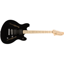 Squier Affinity Series™ Starcaster®, Maple Fingerboard, Black