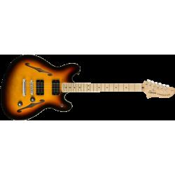 Squier Affinity Series™ Starcaster®, Maple Fingerboard, 3-Color Sunburst