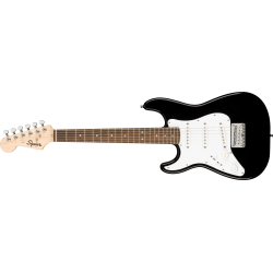 Squier Mini Stratocaster® Left-Handed, Laurel Fingerboard, Black