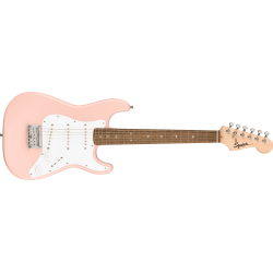 Squier Mini Stratocaster®, Laurel Fingerboard, Shell Pink