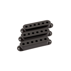 Fender Pickup Covers, Stratocaster® Black (3)