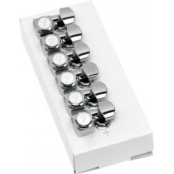 Fender Locking Stratocaster®/Telecaster® Tuning Machines (Polished Chrome) (6)