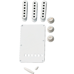Fender Accessory Kit, Vintage-Style Stratocaster®, White