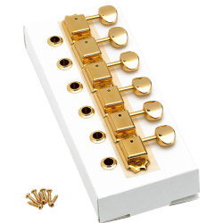 Fender American Vintage Stratocaster®/Telecaster® Tuning Machines Gold (6)