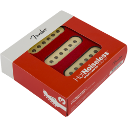 Fender Hot Noiseless™ Strat Pickups, (3)