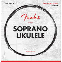 Fender Soprano Ukulele Strings, Set of Four