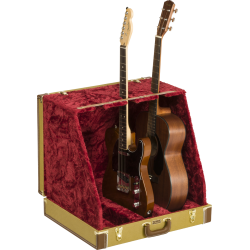 Fender Classic Series Case Stand, Tweed, 3 Guitar
