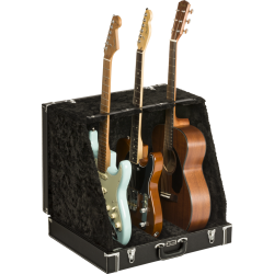 Fender Classic Series Case Stand, Black, 3 Guitar