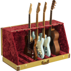 Fender Classic Series Case Stand, Tweed, 7 Guitar
