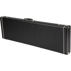 Fender G&G Jazz Bass®/Jaguar Bass® Standard Hardshell Case, Black with Black Acrylic Interior