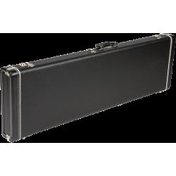 Fender G&G Standard Precision®/Jazz® Bass Hardshell Case, Left Handed, Black with Black Acrylic Interior