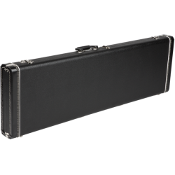 Fender G&G Precision Bass® Standard Hardshell Case, Black with Black Acrylic Interior