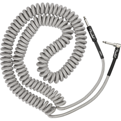 Fender Professional Coil Cable, 30', White Tweed