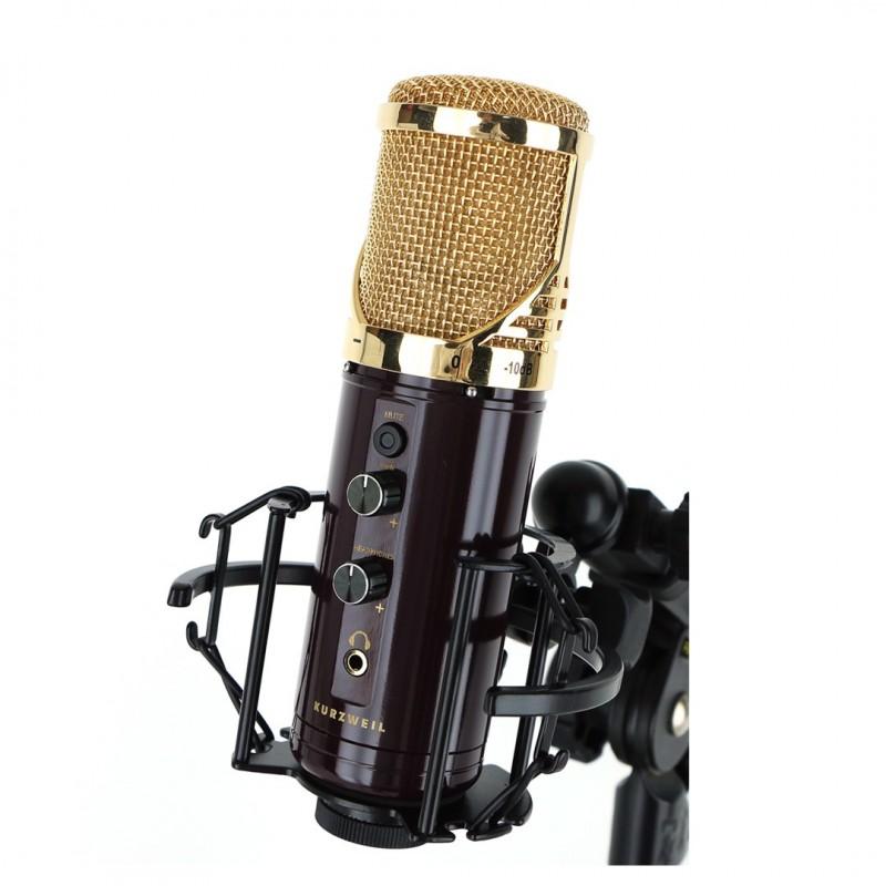 Kurzweil Km-1u Negro Microfono