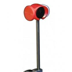 Slug Maza Pedal POWER HEAD Jazz Pro Titanium Shaft RED