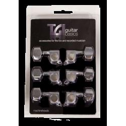 TGI TG415C CLAVIJERO PARA GUITARRA ACÚSTICA/ELÉCTRICA 3 + 3
