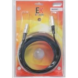 EK AUDIO MIDI001 CABLE MIDI...