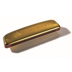 HOHNER ARMÓNICA GOLD. MELODY F