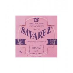 SAVAREZ 524-R Cuerda Clásica 4a Carta Roja