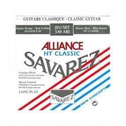 SAVAREZ 540-ARJ Juego Clásica Alliance Alta Tensión Classic Roja/Azul