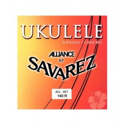 SAVAREZ 140-R Soprano/Concert Juego Ukelele Alliance