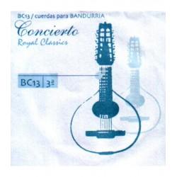 ROYAL CLASSICS Cuerda 3ª Bandurria Concierto BC-13