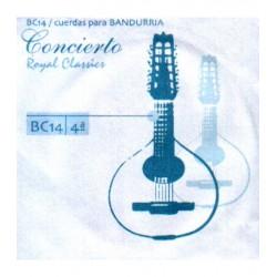 ROYAL CLASSICS Cuerda 4ª Bandurria Concierto BC-14