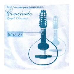 ROYAL CLASSICS Cuerda 6ª Bandurria Concierto BC-16