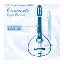 ROYAL CLASSICS Cuerda 2ª Laúd Concierto LC-22