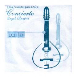 ROYAL CLASSICS Cuerda 4ª Laud Concierto LC-24