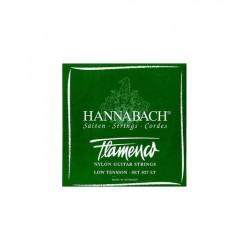 HANNABACH 8272-LT Cuerda 2ª Verde Flamenco